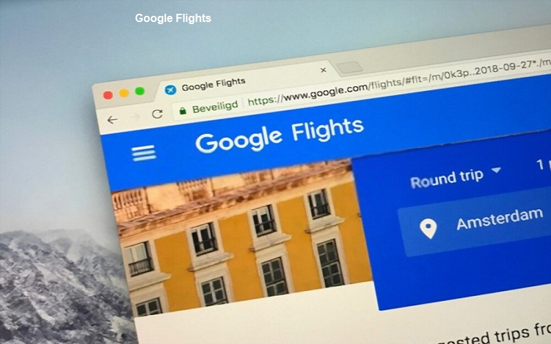 How to book a flight on Google flights